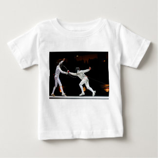 Modern Fencing Sword Fighting Dual Baby T-Shirt