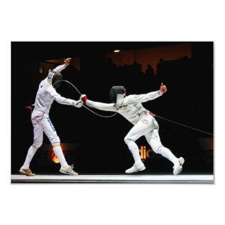 Modern Fencing Sword Fighting Dual Card