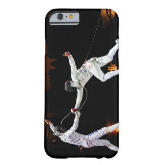 Modern Fencing Sword Fighting Dual Barely There iPhone 6 Case