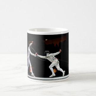 Modern Fencing Sword Fighting Dual Coffee Mug