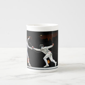 Modern Fencing Sword Fighting Dual Tea Cup