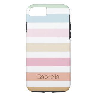 modern fine pastel colors iPhone 8/7 case