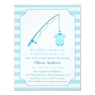 Fish Theme Invitations Zazzle
