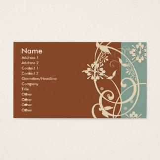 Modern Flare Business Card