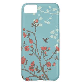 Modern Floral 2 Wedding iPhone 5C Cases