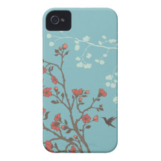 Modern Floral 2 Wedding iPhone 4 Cases