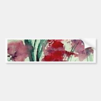Modern Floral CricketDiane Art Bumper Sticker