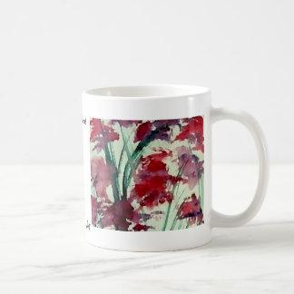 Modern Floral CricketDiane Art Coffee Mug