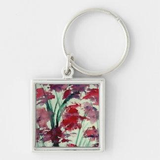 Modern Floral CricketDiane Art Keychains