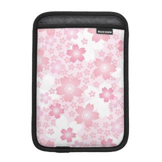 modern,floral,cute,trendy,girly,pink,flowers,digit iPad mini sleeves