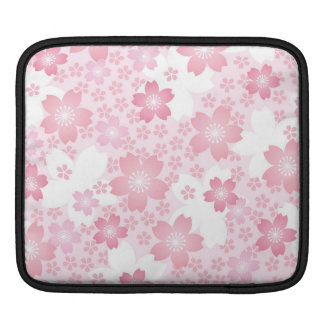 modern,floral,cute,trendy,girly,pink,flowers,digit sleeve for iPads