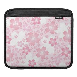 modern,floral,cute,trendy,girly,pink,flowers,digit sleeves for iPads