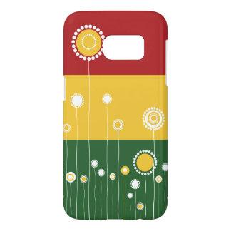 Modern Floral Pattern Samsung Galaxy S7 Case
