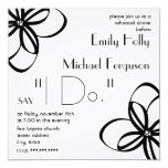"Modern Floral Rehearsal Dinner Invitation 5.25"" Square Invitation Card"