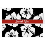 Modern Floral Thank You Greeting Card