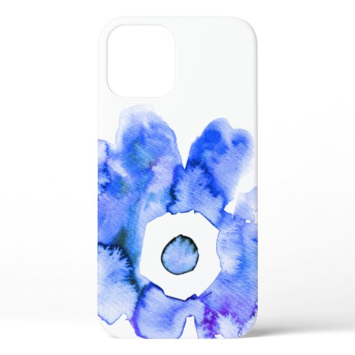 Modern floral watercolor hand drawn flower Case-Ma iPhone 12 Case