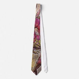 Modern Florals: Epiphyllum Flower Neck Tie