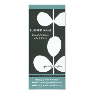 Modern Flower Business Pamphlet Card