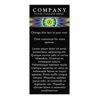 Modern Flower Eye Full Color Rack Card