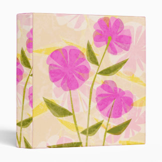 Modern Flowers Binder