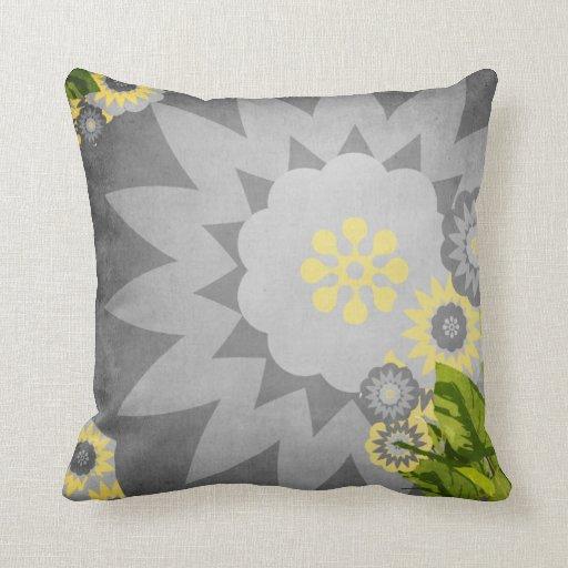 Green And Grey Pillows, Green And Grey Throw Pillows