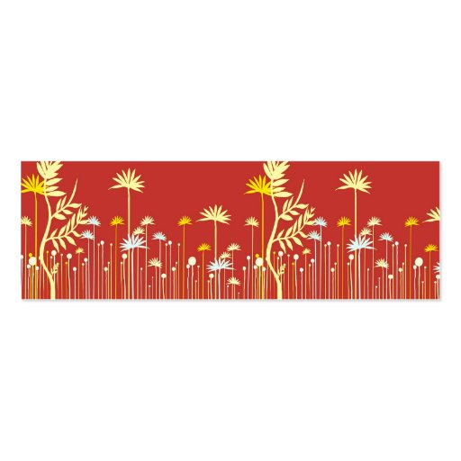 Modern Flowers Mommy Calling Card Business Card