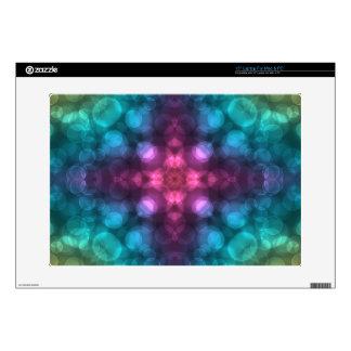 Modern Fractal Art with Cross and Bokeh Skin For Laptop