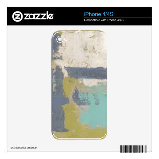 Modern Free Expression Painting iPhone 4 Skin