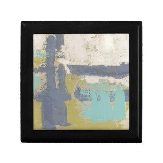 Modern Free Expression Painting Keepsake Box