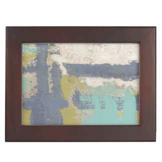 Modern Free Expression Painting Memory Box