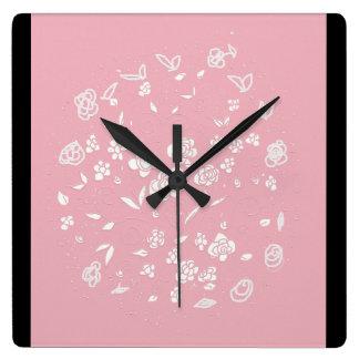modern French chic clock Voila!