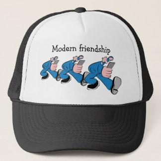 Modern friendship trucker hat