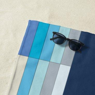 Beach Themed Modern Fun Beach and Swimming Pool Beach Towel