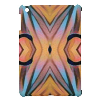 Modern Funky Neutral Pastel Abstract Pattern iPad Mini Cover