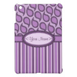 Modern Funky Paisley Pattern in Purples Case For The iPad Mini
