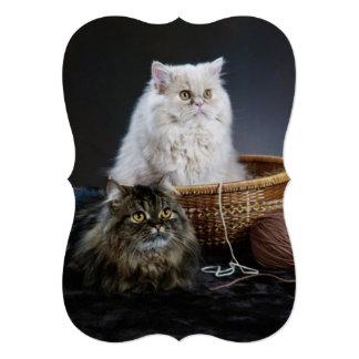 Modern funny cute pet lover card