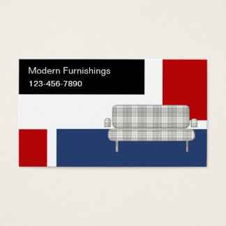 Modern Furniture Business Cards