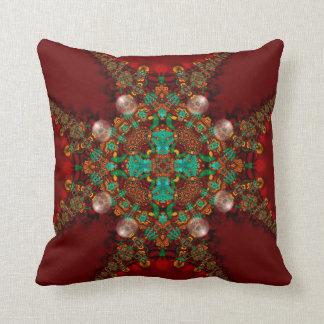 Modern Fusion : Celtic Medieval Cushion / Pillow