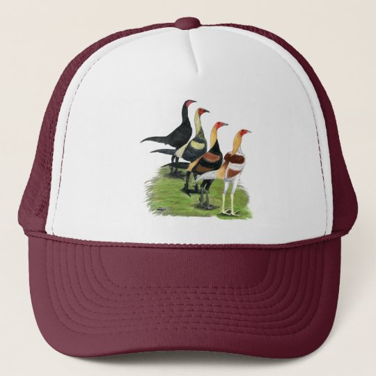 Modern Game Quartet Trucker Hat