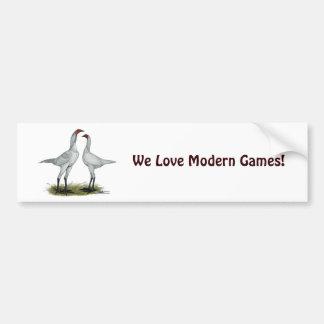 Modern Games Self Blue Bumper Sticker