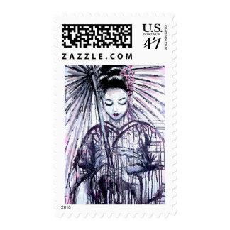 Modern Geisha Postage