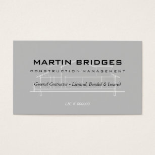 Construction business cards 4400 construction business card templates modern general construction business cards cheaphphosting Gallery