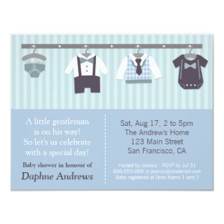 modern baby shower invitations  announcements  zazzle, Baby shower invitations
