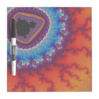 Modern Geode Dry Erase Board