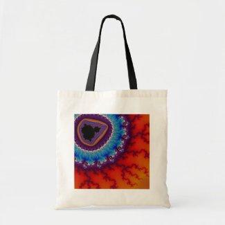 Modern Geode Tote Bag