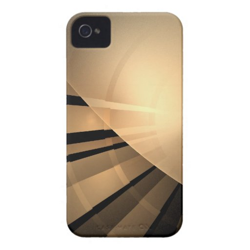 Modern Geometric Abstract iPhone 4 Case-Mate Case