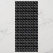 Modern Geometric Black Square Pattern