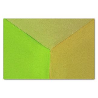 "Modern Geometric Configurative Photo 10"" X 15"" Tissue Paper"