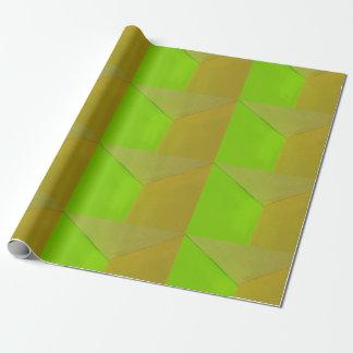 Modern Geometric Configurative Photo Wrapping Paper