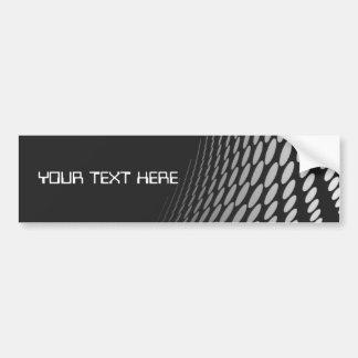 Modern Geometric Design Car Bumper Sticker